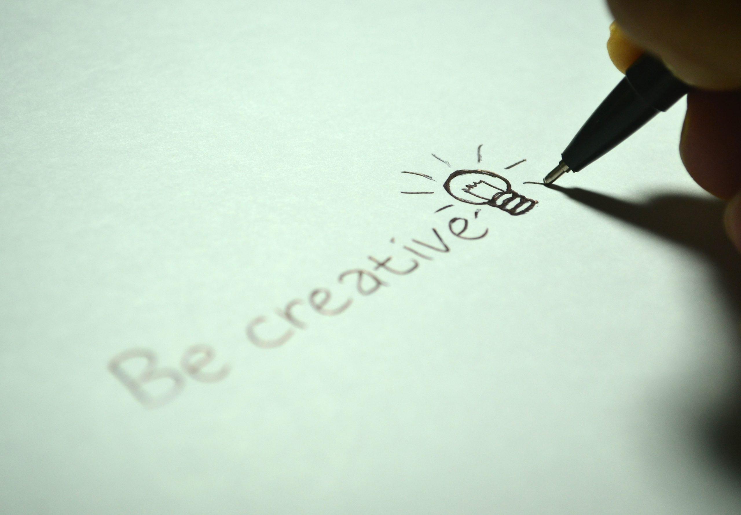 Légy kreatív! Innováció
